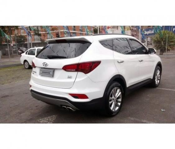 HYUNDAI IMP SANTA FE GLS 7LUG 4WD 3.3 V6 AT Branco 2017/2018 - Foto 4