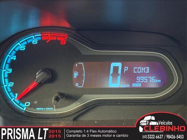CHEVROLET PRISMA 1.4 MPFI LTZ 8V FLEX 4P AUTOMÁTICO - Foto 10
