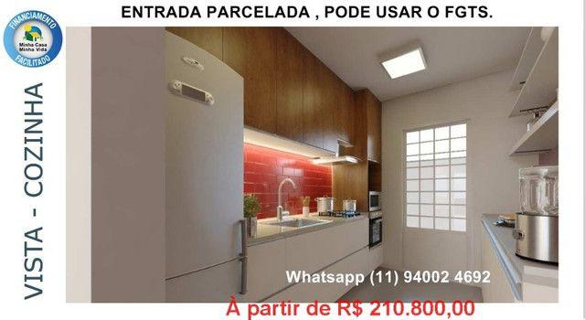 Alta Vista Campo Limpo Pta, casas em condominio , entrada parcelada , pode usar FGTS - Foto 5