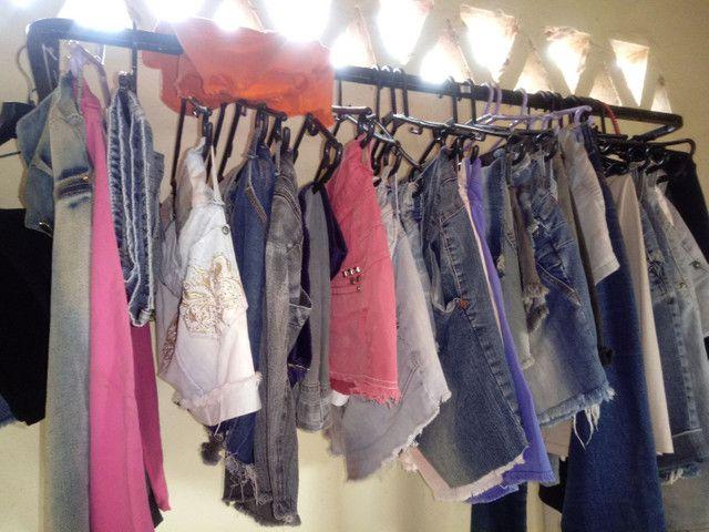 Vendo lote de roupas para Brechó ou bazar - Foto 6