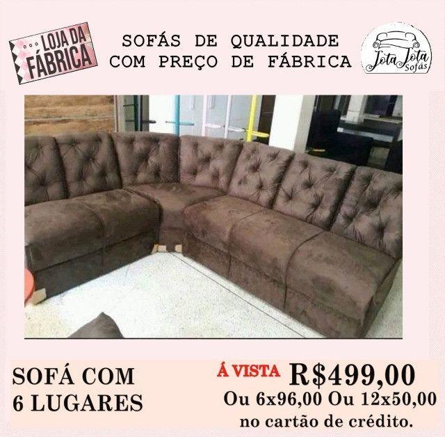 Isso mesmo sofás novos direto da fabrica a partir de 389,00!! - Foto 4