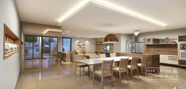 Repasse 130m² Eco Oceania! Apartamento com 3 suítes - Vista mar - Varanda gourmet - Jardim - Foto 4