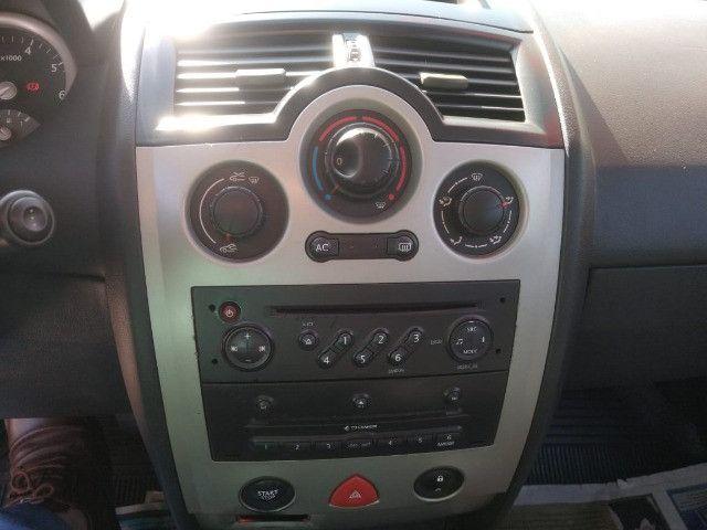 Megane 2007 1.6 aceito trocas carro e moto e financio banco em couro - Foto 5