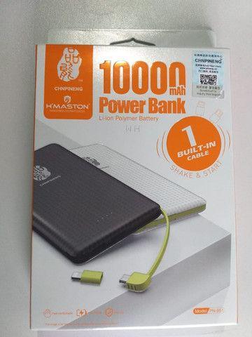 Pineng Power Bank Original Slim Pn951 10000mah Lançamento