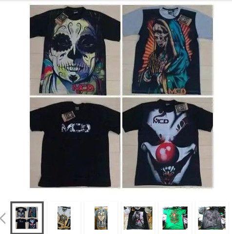 Camiseta MCD Atacado- Kit 10 peças - camisetas no atacado para revenda roupas De Marca