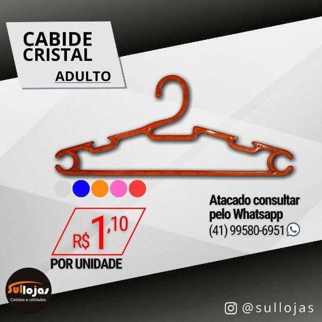 Cabide Acrílico Adulto - Foto 4
