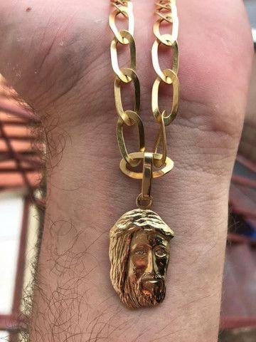 Cordão de ouro 18k maciço - Foto 2