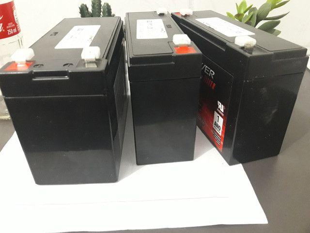 Bateria para carrinho elétrico ou moto elétrica infantil,6v e 12v - Foto 4