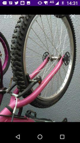Vanda ou troca bicicleta aro 26 Caloi - Foto 5