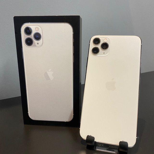 iPhone 11 Pro Max Silver 64GB (NOVO) - Foto 2