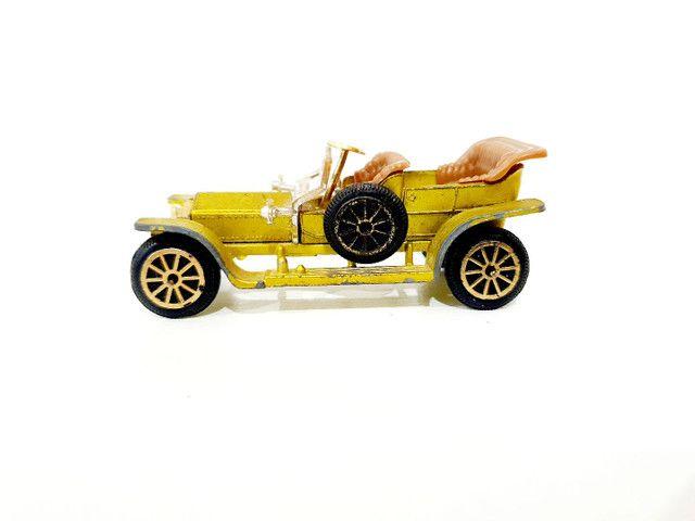Calhambeque Rollsroyce Silverghost Retrô Miniatura - Coleção Carros Antigos <br> - Foto 2