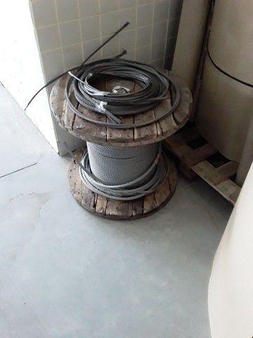 Vendo cabo de aço galvanizado  - Foto 3