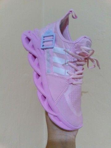 Tenis (Leia a Descrição) Adidas Yeeze Fiv Várias Cores Novo - Foto 5