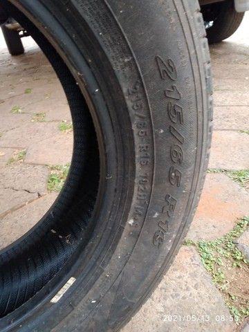 Vende se 2 pneus sem Aro e 1 com aro usados - Foto 5