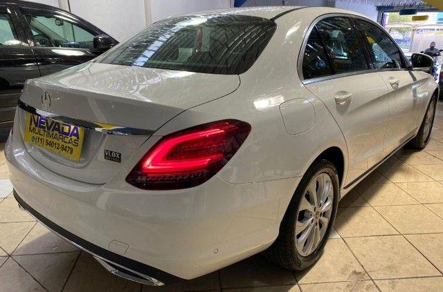 Mercedes Benz C 180 2019 1.6 Gasolina Único Dono Branca Estudo Troca e Financio - Foto 4