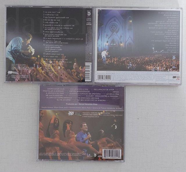 Coleção 13 CDs DANIEL - incluindo CD autografado - PERFEITO ESTADO!!! - Foto 5