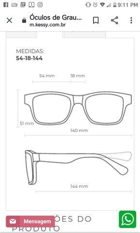 Armação pra óculos de grau - Foto 3