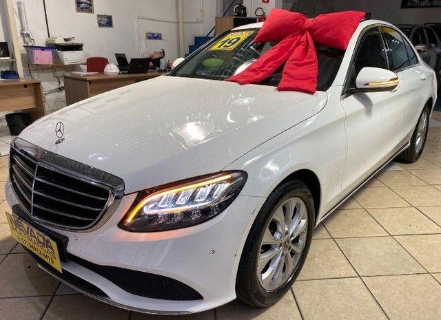 Mercedes Benz C 180 2019 1.6 Gasolina Único Dono Branca Estudo Troca e Financio - Foto 3
