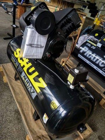 Compressor De Ar Schulz Audaz MCSV 20 Pés - Trifásico  - Foto 6