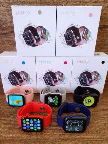 Smartwatch IWO 13 Lite HW12 40mm, Foto e Senha na Tela, Troca Pulseira, Faz ligações - Foto 3
