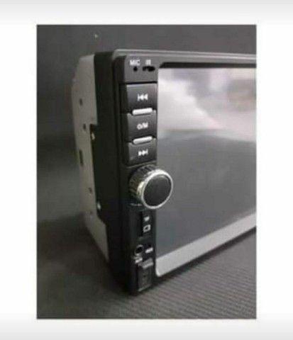 Central Multimídia Bluetooth 7 Polegadas - Foto 3