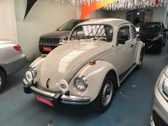 VW Fusca 1600 - Placa Preta - Colecionador