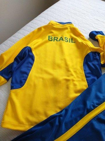 Abrigo de tênis , da seleção do Brasil - Foto 3