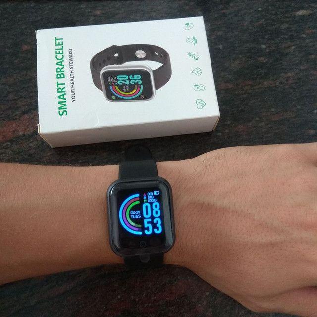Smart Watch D20 À Prova D 'Água Com Medidor De Frequência Cardíaca Para Ios Android - Foto 3