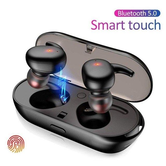 Fone sem fio Bluetooth 5.0 Y30 ideal para esportes exercícios e para dar de presente - Foto 3