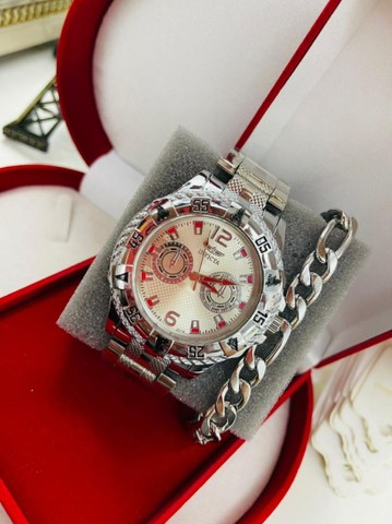 Relógio masculino com acessórios - Foto 5