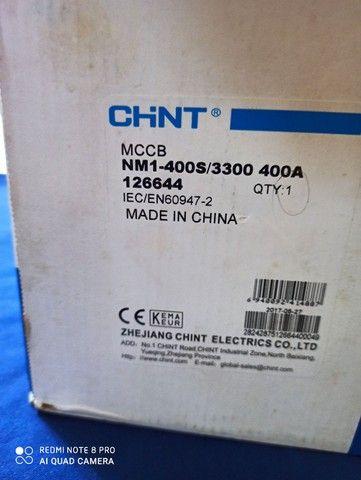 Disjuntor caixa moldada Chint 400A $600 - Foto 4