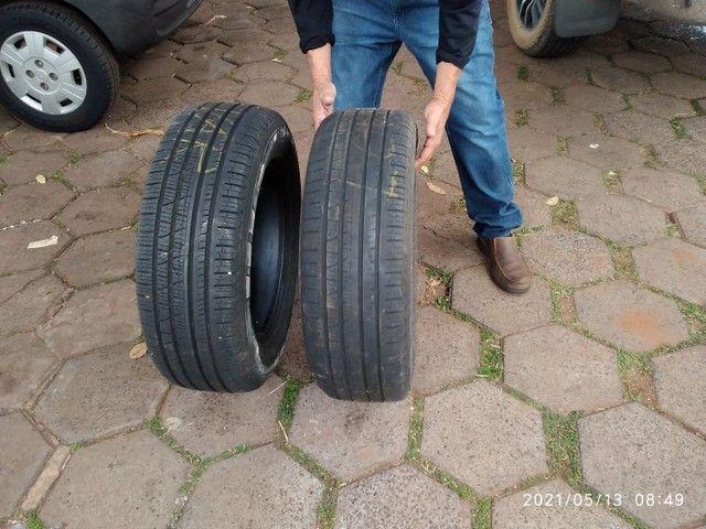 Vende se 2 pneus sem Aro e 1 com aro usados - Foto 8