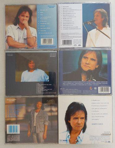 COLEÇÃO 6 CDs ROBERTO CARLOS - POUCO USO - PERFEITO ESTADO - Foto 2