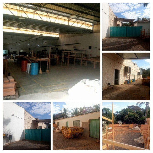 Aluguel -Galpão 900 mts + Escritório em terreno 2.500 mts