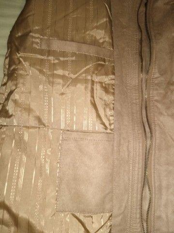 Casaco em tecido aveludado - Foto 3