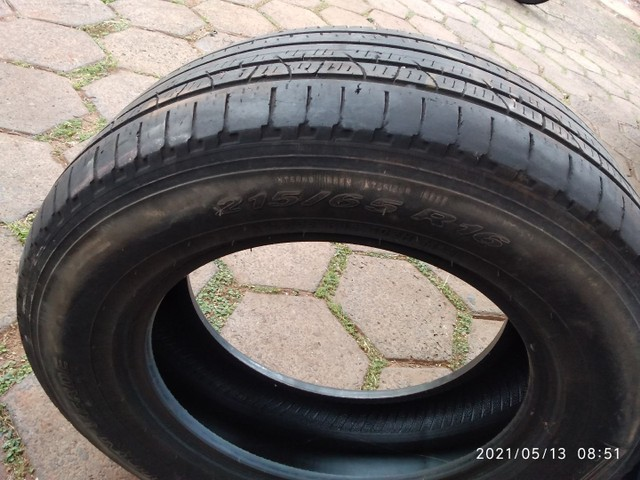 Vende se 2 pneus sem Aro e 1 com aro usados - Foto 9