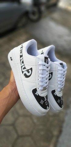 Tenis (Leia a Descrição) Nike Air Fig Várias Cores Novo - Foto 4
