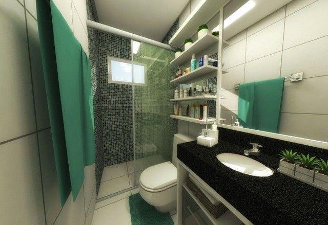 GÊ Apartamento, bairro Jangurussu, 2 dormitórios, 2 banheiros, 1 vaga. - Foto 8