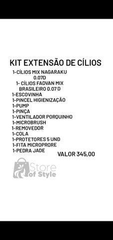 Kit Extensão de Cílios  - Foto 2