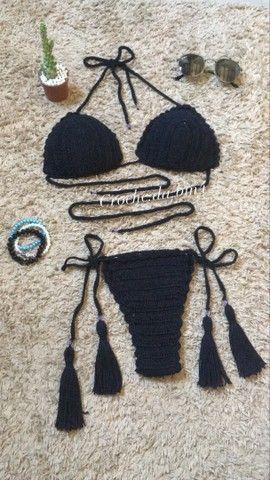 Biquíni de crochê  - Foto 2