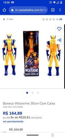 Boneco X-Men ( Wolverine/Logan)lacrado - Foto 2