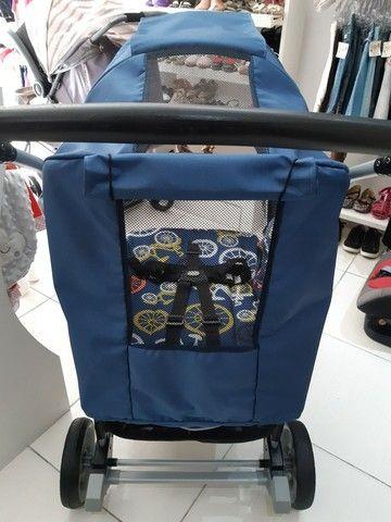 Travel System Burigotto AT6 Azul Bikes estado de novo já higienizado   - Foto 4