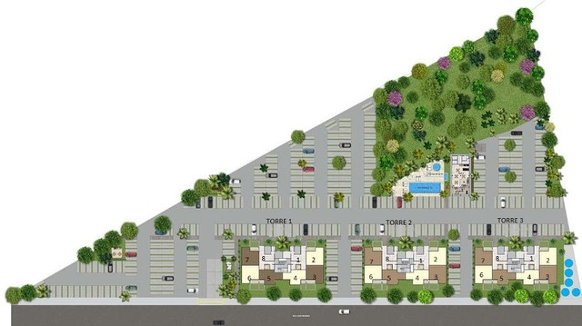 Apartamentos de 2 dormitórios Próximo ao Parque das Águas #ro10 - Foto 9