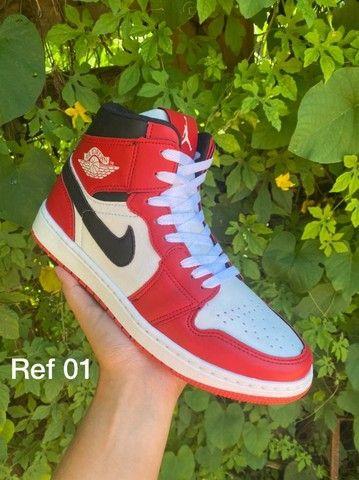 Tenis (Leia a Descrição) Nike Jordan Trad Várias Cores Novo - Foto 5