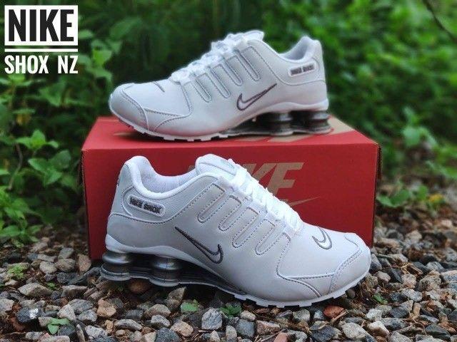 Tenis (Leia a Descrição) Nike Shox Várias Cores Novo - Foto 5