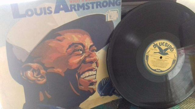 Lp Louis Armstrong - What a Wonderful World - 1989