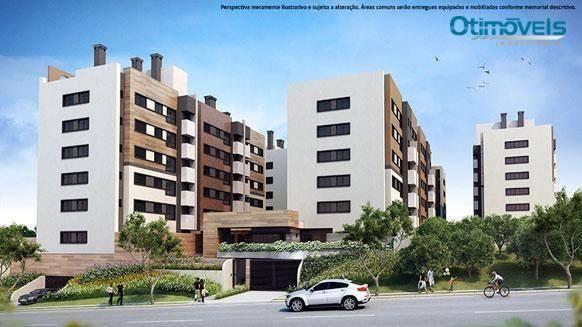 Apartamento com 2 dormitórios à venda, 56 m² por r$ 345.900,00 - santo inácio - curitiba/p - Foto 2