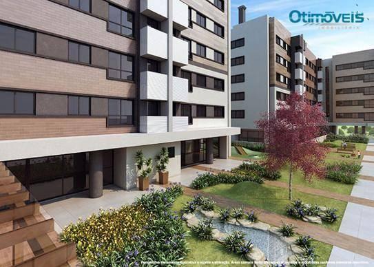 Apartamento com 2 dormitórios à venda, 56 m² por r$ 345.900,00 - santo inácio - curitiba/p