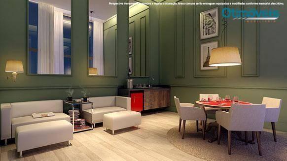 Apartamento com 2 dormitórios à venda, 56 m² por r$ 345.900,00 - santo inácio - curitiba/p - Foto 13