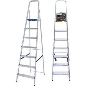 Escada de aluminio 7 degraus